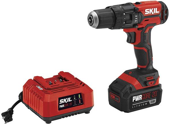 Skil PWRCore 20V Hammer Drill Kit