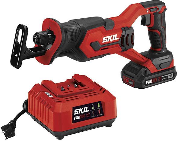 Skil PWRCore 20V Reciprocating Saw Kit