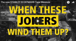 Stanley FatMax Prank Show Ad