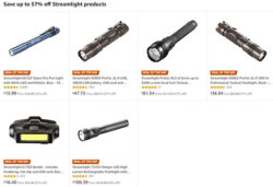 Streamlight LED Flashlight Deal of the Day October 2018