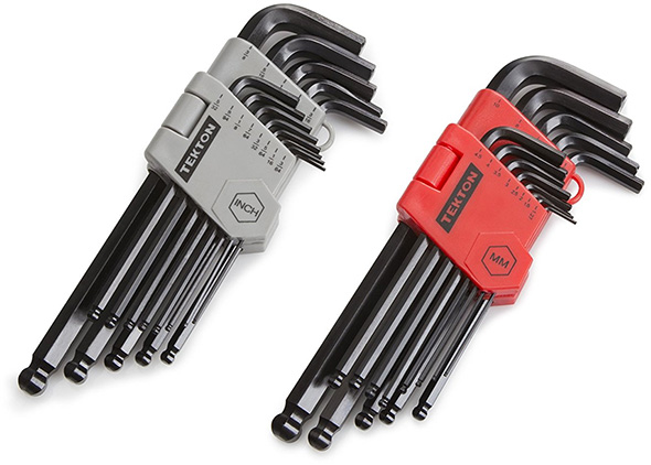 Tekton Ball Hex Key Sets