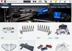 Amazon Kobalt Tools Storefront