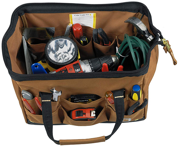 Carhartt Tool Bag Inside Pockets