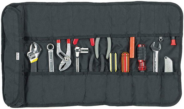 Carhartt Tool Roll Black Open