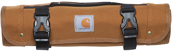 Carhartt Tool Roll Brown Closed
