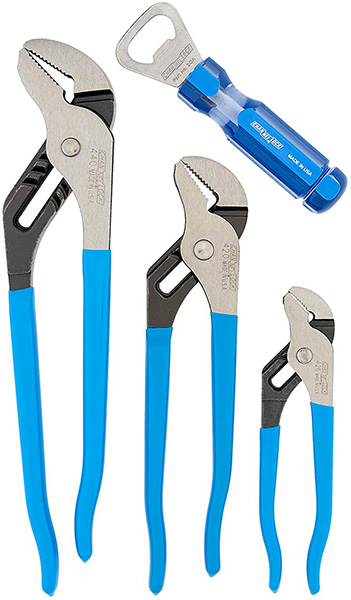 Channellock GS-3A Pliers Tool Set Holiday 2018