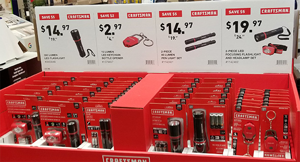 Craftsman LED Flashlights Holiday 2018 Deals