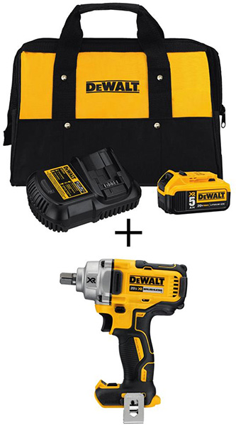 Dewalt Black Friday 2018 Tool Deal Brushless Impact Wrench