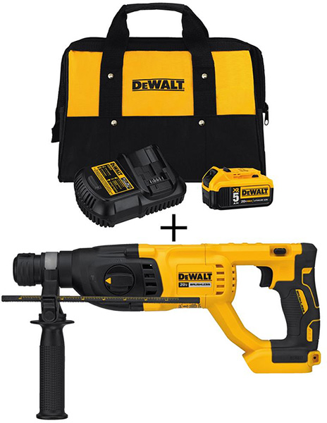 Dewalt Black Friday 2018 Tool Deal Brushless Rotary Hammer