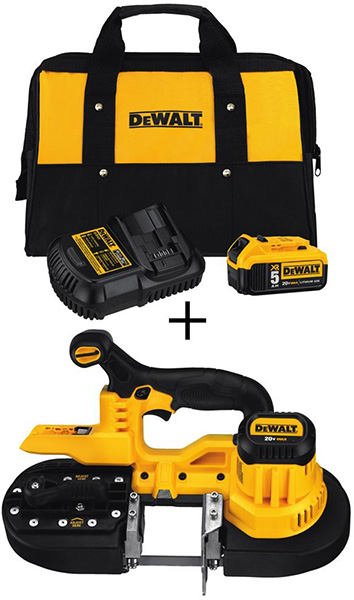 Dewalt Black Friday 2018 Tool Deal Cordless Band Saw