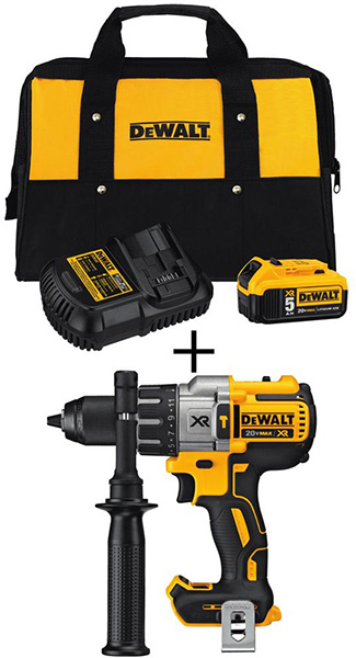 Dewalt Black Friday 2018 Tool Deal Premium Brushless Hammer Drill