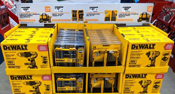 Dewalt Cordless Tools at Home Depot 2018