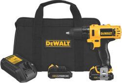 Dewalt DCD710S2 12V Max Cordless Drill Kit