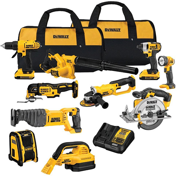 Dewalt DCK1020D2 Cordless Power Tool Combo Kit