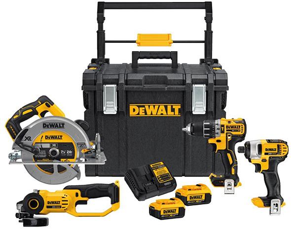 Dewalt DCKTS450M2 Cordless Power Tool Combo Kit