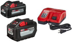 Free Milwaukee XC6 battery with HD12 starter kit hero