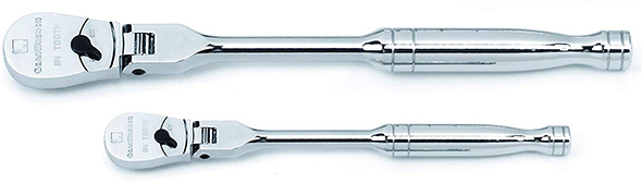 Gearwrench Full Polish Flex-Head Ratchet Set