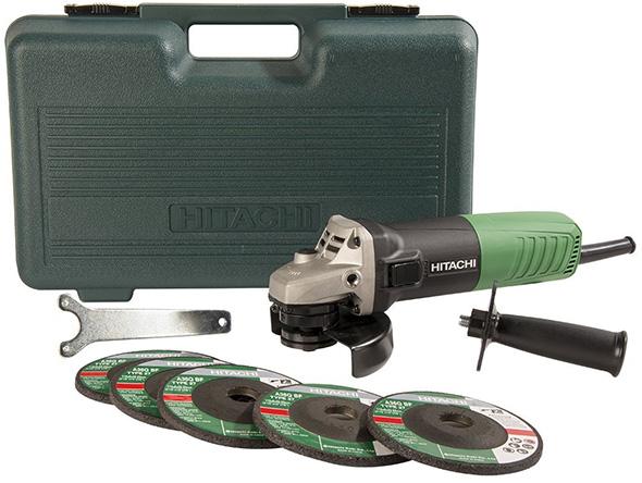 Hitachi Angle Grinder Kit