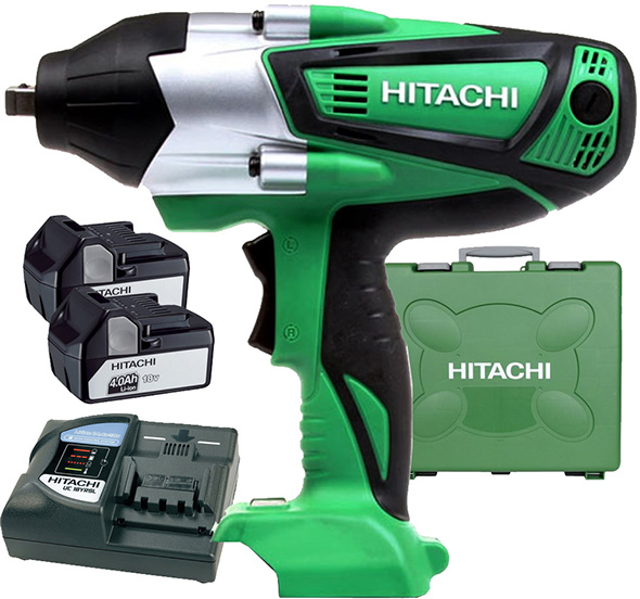 Hitachi Cordless Impact Wrench Kit