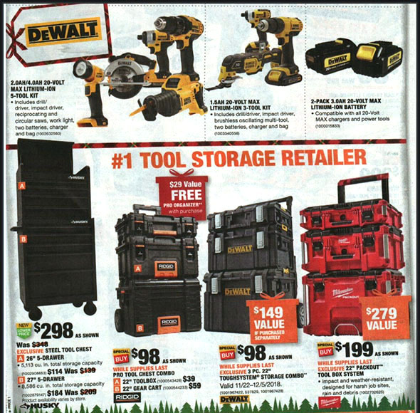 Home Depot Black Friday 2018 Tool Deals Page 12