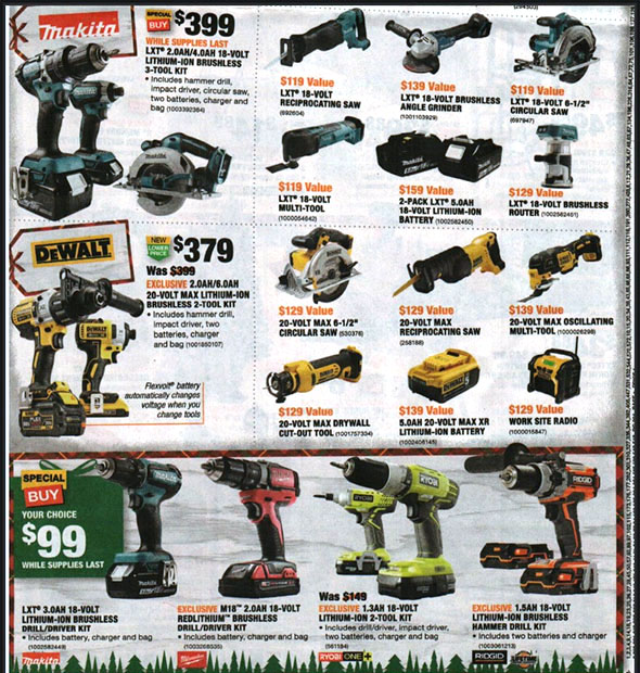 Home Depot Black Friday 2018 Tool Deals Page 14