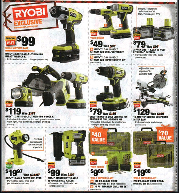 Home Depot Black Friday 2018 Tool Deals Page 9