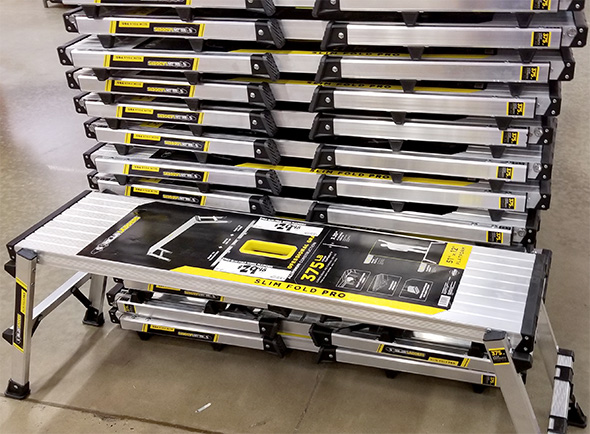 Home Depot Pro Black Friday 2018 Tool Deals Gorilla Ladders Slim Pro Work Platform