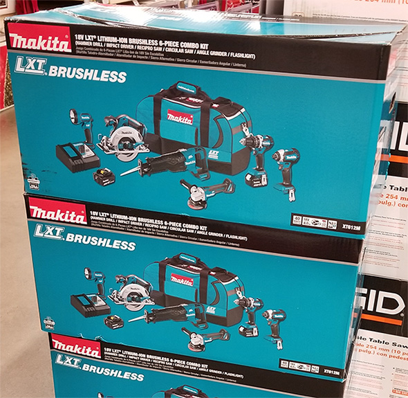 Home Depot Pro Black Friday 2018 Tool Deals Makita Cordless Power Tool Combo Kit