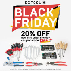 KC Tool Black Friday 2018 20 Percent Coupon