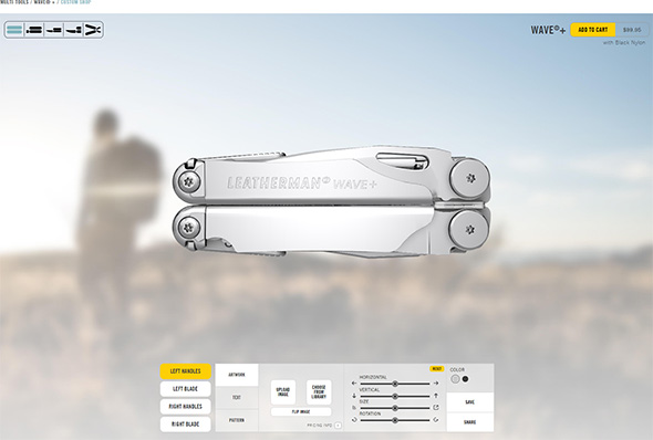 Leatherman Wave Plus Custom Shop