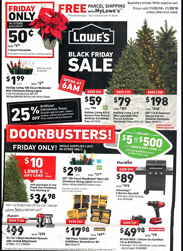 Lowes Black Friday 2018 Tool Deals Page 1