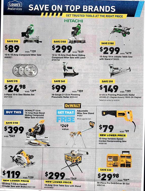 Lowes Black Friday 2018 Tool Deals Page 14