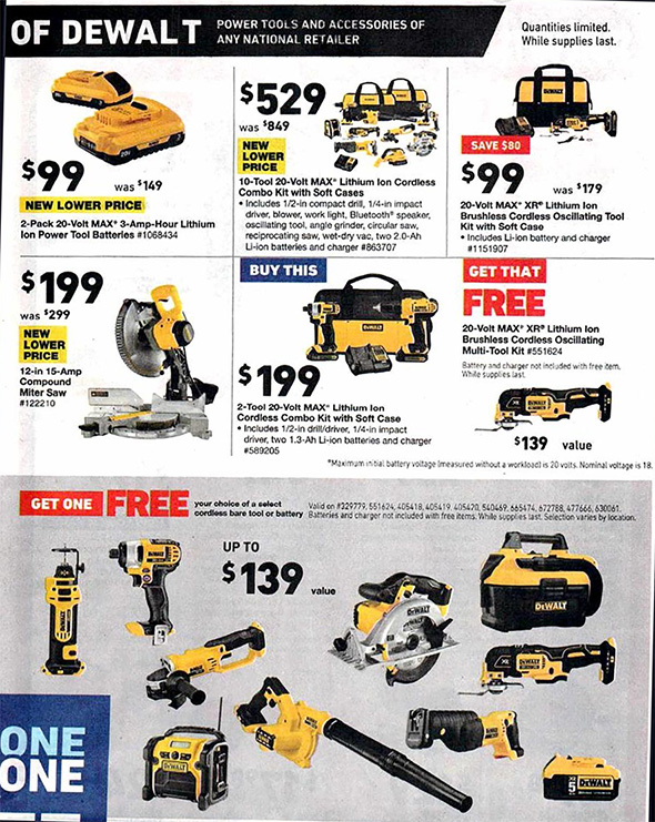 Lowes Black Friday 2018 Tool Deals Page 18