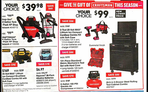 Lowes Black Friday 2018 Tool Deals Page 2