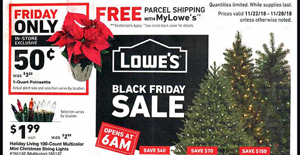 Lowes Black Friday 2018 Tool Deals