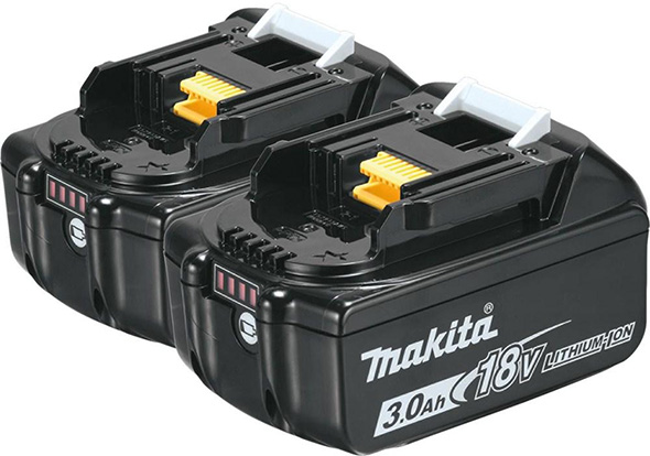 Makita 18V 3Ah Battery 2-Pack