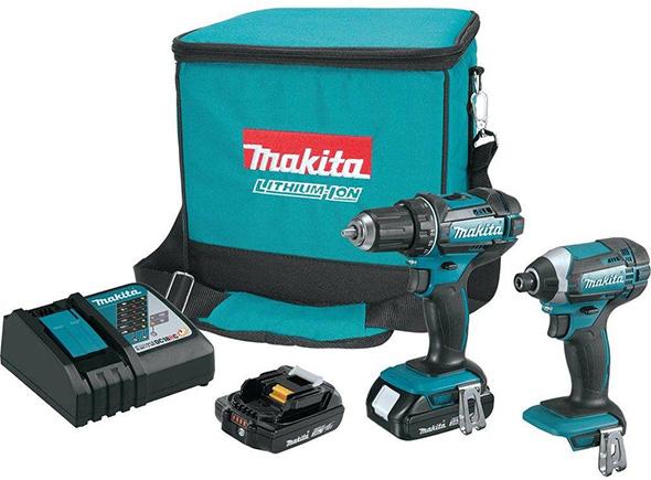 Makita CT225R 18V Drill and Impact Driver Combo Kit