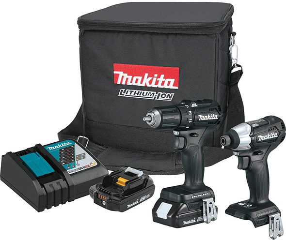 Makita CX200RB Sub-Compact Drill and Impact Driver Kit
