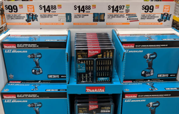 Makita Cordless Tools Special Buy at Home Depot 2018