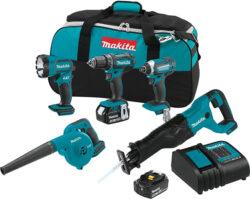 Makita XT506S Cordless Power Tool Combo Kit Holiday Season 2018 Special Buy