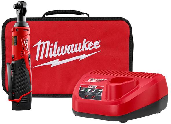 Milwaukee 2457-21P M12 Ratchet Kit