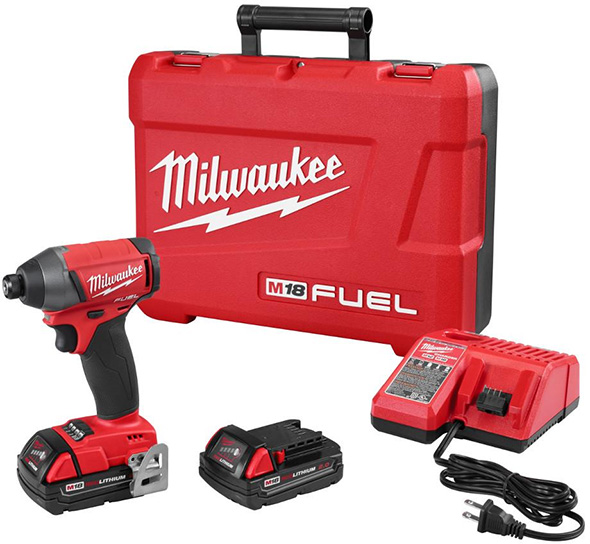 Milwaukee 2753-22CT M18 Fuel Brushless Impact Driver Combo Kit