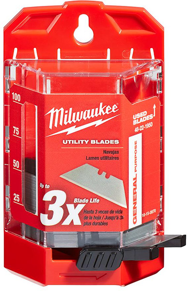 Milwaukee General Purpose Utility Knife Blades