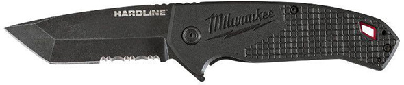 Milwaukee Hardline Knife with Tanto Blade