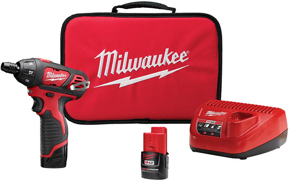Milwaukee M12 Cordless Screwdriver Kit 2401-22