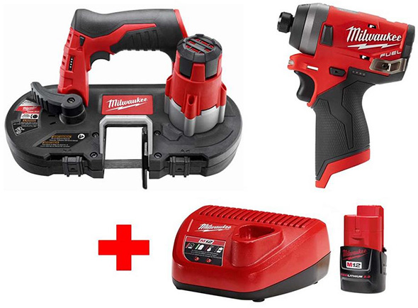 Milwaukee M12 Free Bonus Battery Promo Black Friday 2018