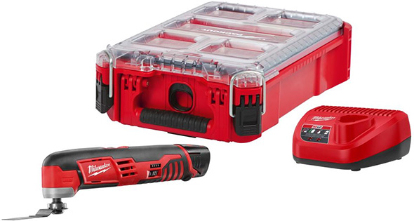 Milwaukee M12 Oscillating Multi-Tool Packout Bundle