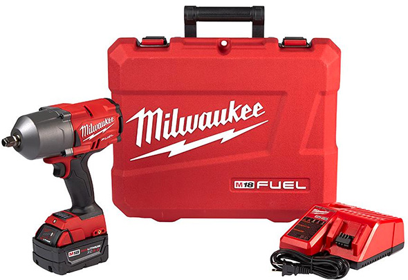 Milwaukee M18 Fuel High Torque Impact Wrench Kit