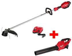 Milwaukee M18 Fuel String Trimmer and Blower Bundle