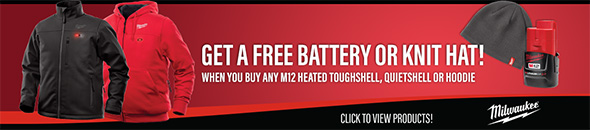 Ohio Power Tool Milwaukee Deals Holiday 2018 Free Battery or Hat Bonus